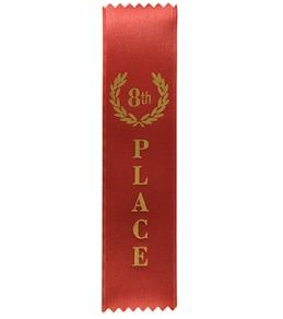 8th Place Stock Award Ribbon