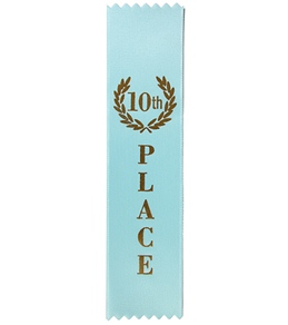 10th Place Stock Award Ribbon