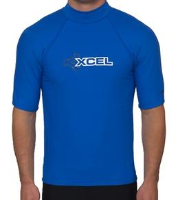 Xcel Men's UPF50+ Solid S/S Rash Guard