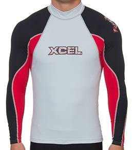 Xcel Men's UPF50+ L/S 3-Color Rashguard