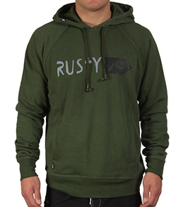 Rusty Guys' Wired-In Ramrod Fleece Pullover Hoodie