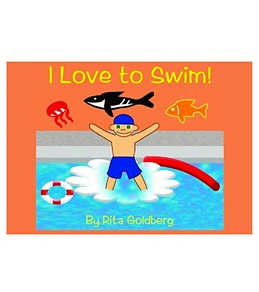 British Swim School I Love to Swim! book By Rita Goldberg with DVD
