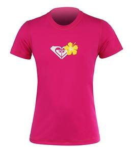 Roxy Youth Girls' Roxy Bloom S/S Surf Shirt