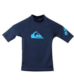 Quiksilver Boys' All Time S/S Rash Shirt