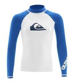 Quiksilver Boys' All Time L/S Rashguard