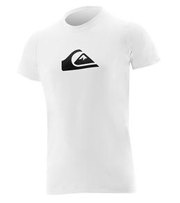 Quiksilver Boys' Solid Streak S/S Rash Shirt