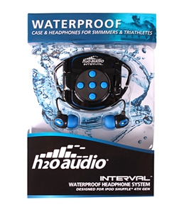 H2O Audio Interval Waterproof Headphone System for iPod Shuffle (4th Gen)