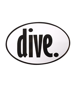Bay Six Dive Decal