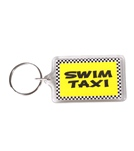 Bay Six Swim Taxi Key Ring