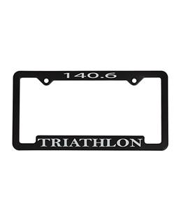 Bay Six 140.6 Triathlon License Plate Frame