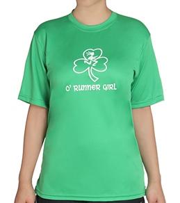 Bay Six O'Runner Girl Green Tech Shirt