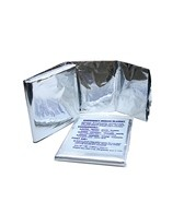 KEMP Small Foil Emergency Blanket