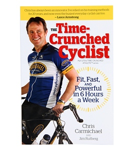 The Time-Crunched Cyclist Book by Chris Carmichael & Jim Rutberg