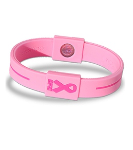 EFX Breast Cancer Awareness Silicone Sport Wristband