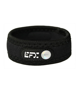 EFX Neoprene Black with White Wristband