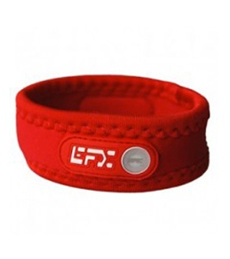 EFX Neoprene Red with White Wristband