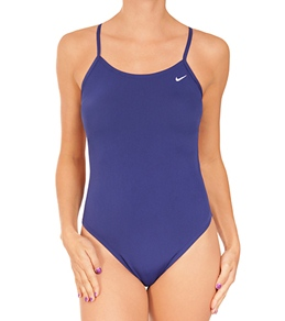 Nike Solid Poly Cut Out Tank (SwimOutlet.com Exclusive)
