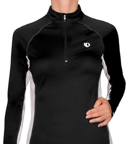 Pearl Izumi Women's Infinity In-R-Cool Half Zip L/S Running Shirt