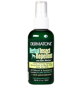Dermatone Natural Herbal Bug Pump Spray 4oz