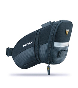 Topeak Aero Wedge Bicycle Saddle Bag w/ Fixer F25