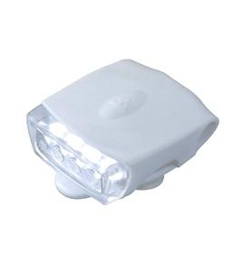 Topeak Cycling WhiteLite DX USB Front Safety Light White w/White LED
