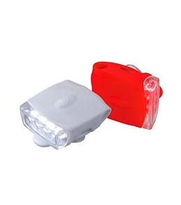 Topeak Cycling HighLite Combo USB Front White/Rear Red