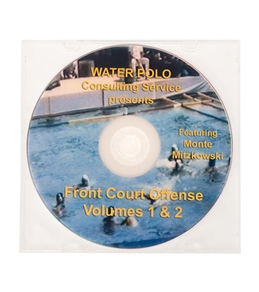 Monte Water Polo Front Court Offense (Volume 1 and 2) DVD