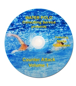 Monte Water Polo Counter Attack (Volume 1 Instructional) DVD