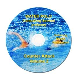 Monte Water Polo Counter Attack (Volume 2 Drills) DVD