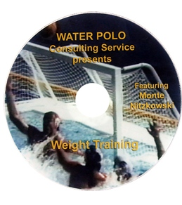 Monte Water Polo Weight Training DVD