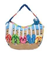 Sun N Sand Coastal Flip Flops Tote Beach Bag