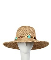 Sun N Sand Stone & Bead Straw Hat