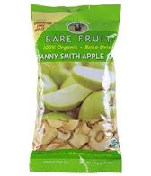 Bare Fruit Baked Dried Organic Apple Chips - Individual Units
