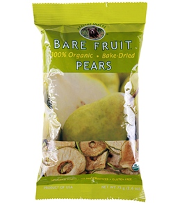 Bare Fruit Baked Dried Organic Fruit Chips - Individual Units