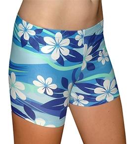 Tuga Women's Plumeria Sport Shorts