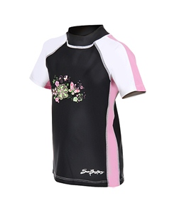 SunBusters Girls' S/S Rash Guard