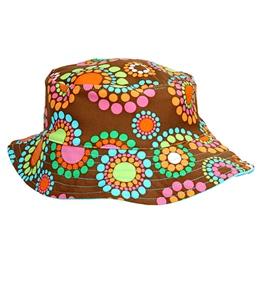 SunBusters Girls' Reversible Print Bucket Hat