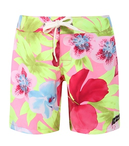 Tidepools Girls' Hanalei Surf Trunks (2-14yrs)