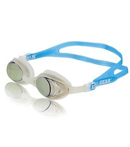 Water Gear Metallic Anti-Fog Cuda Goggle