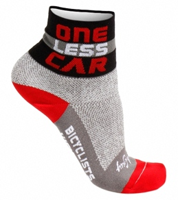 "Sockguy One Less Car 3"" Classic Sock"