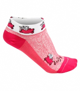 "Sockguy Flying Pigs 1"" Women's Sock"