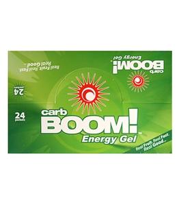 Carb BOOM! Raspberry Energy Gel (Box of 24)