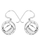 sports-collection-jewelry-water-polo-ball-dangling-earrings-rhodium-plated