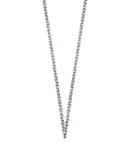 Sports Collection Jewelry Rhodium Plated Sterling Silver Necklace