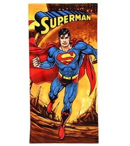 JP Imports Superman Firey Planet Beach Towel
