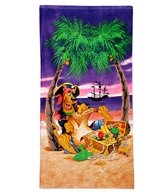 JP Imports Scooby-Doo Pirate Beach Towel