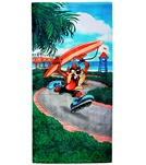 JP Imports Taz Surf Beach Towel