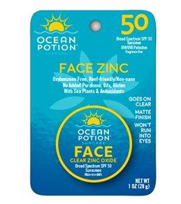 Ocean Potion Face Potion Clear Zinc SPF 45 1oz