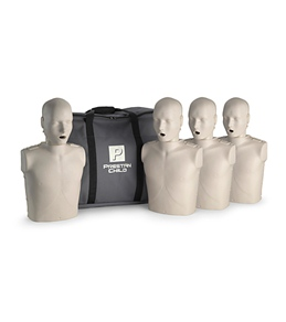 Prestan Professional Child CPR-AED Training Manikins 4 Pack & Kit