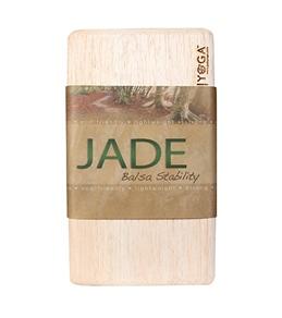 Jade Yoga Balsa Stability Block Large 30oz